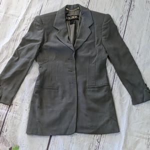 Escada Grey Wool Jacket
